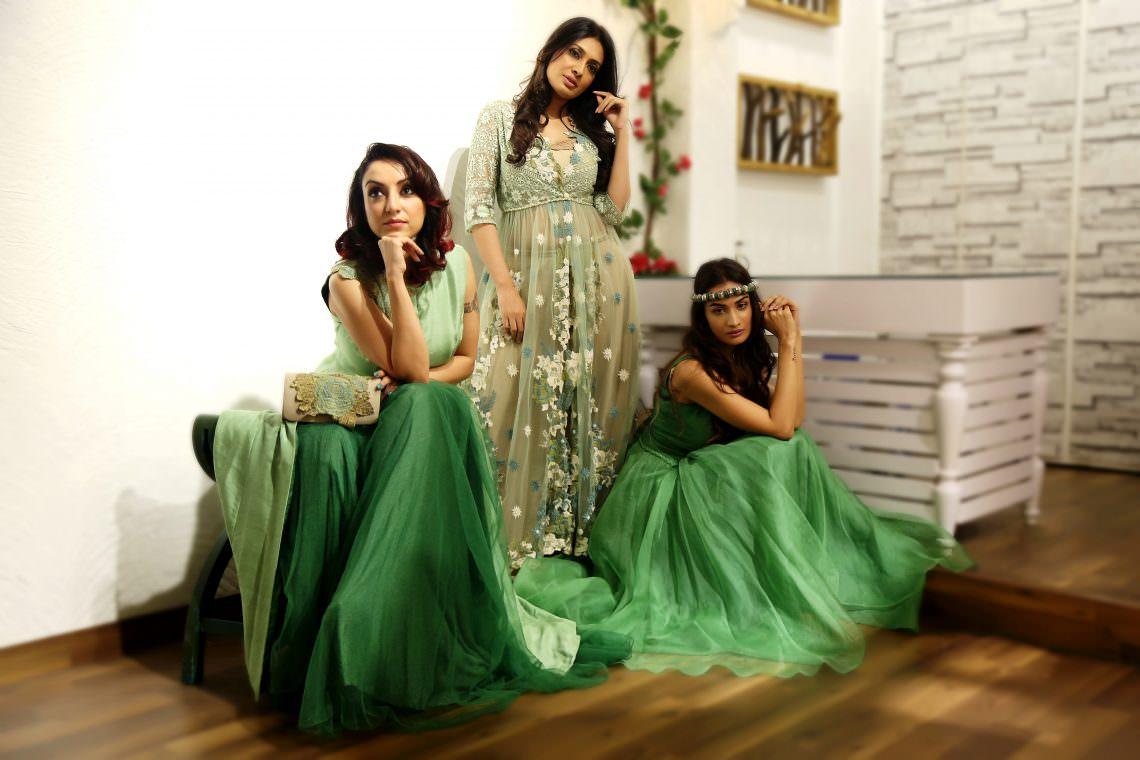Designer Bhumika & Jyoti launch Forest Greens