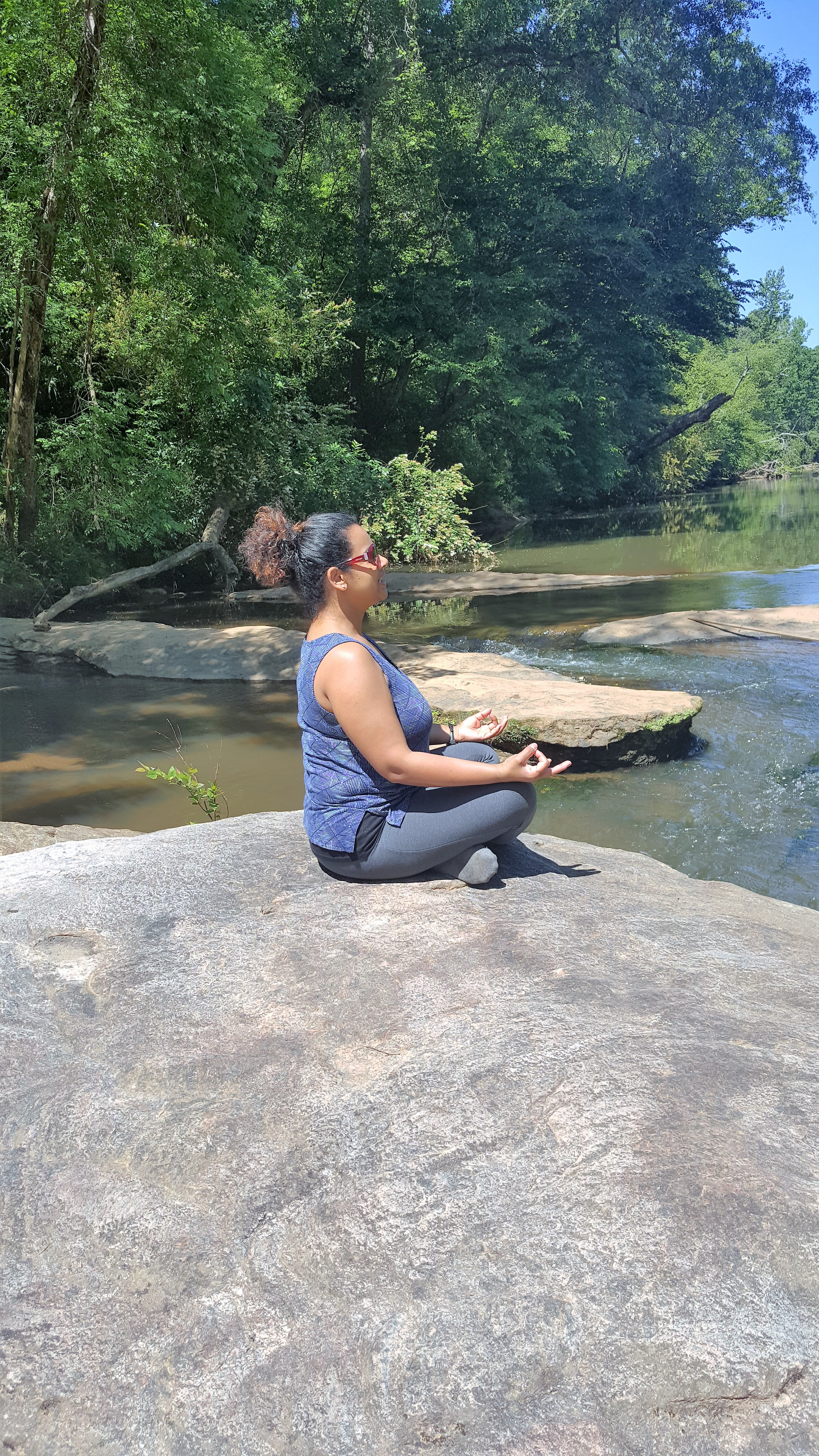 Meditation by the river